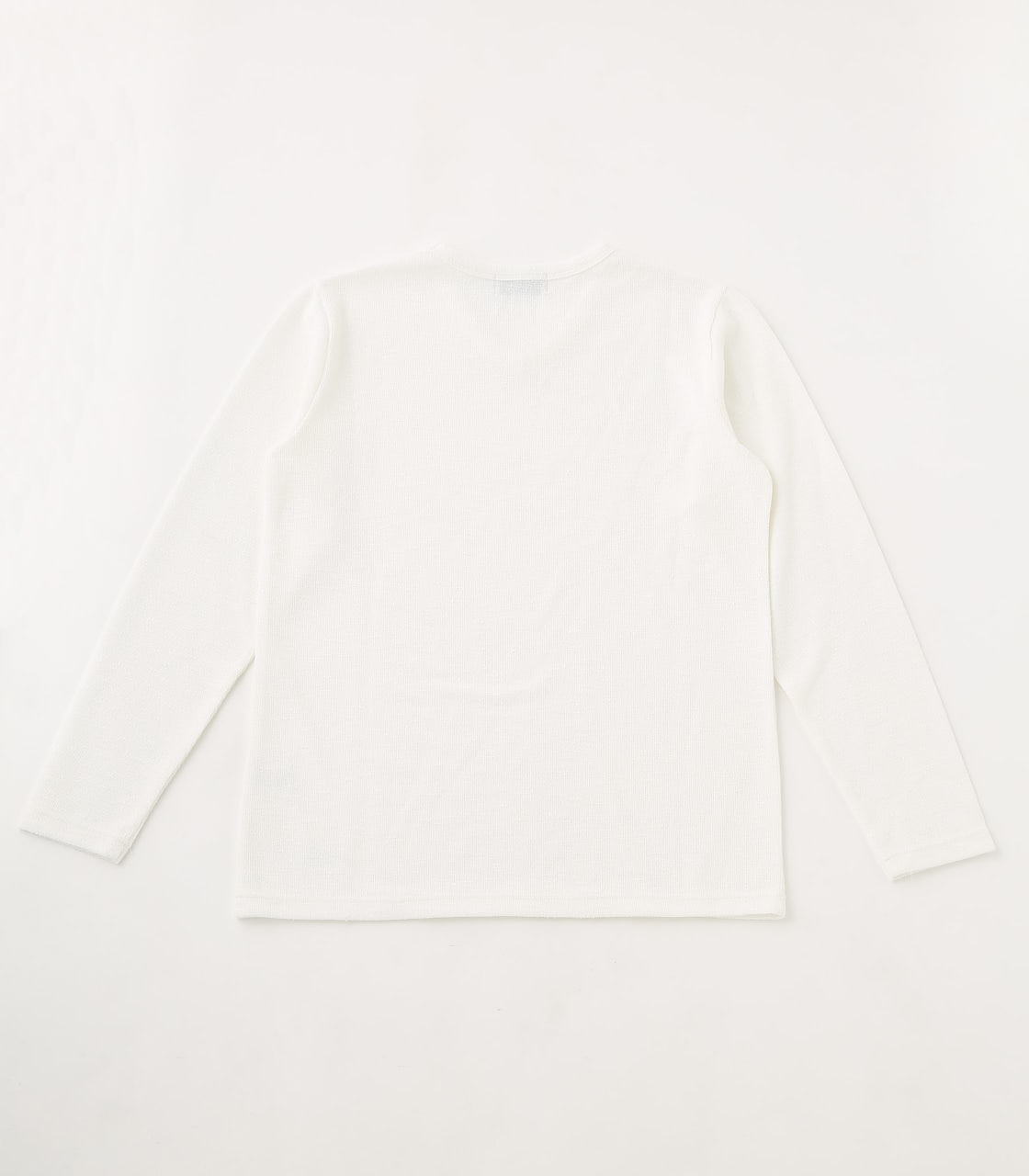 【AZUL BY MOUSSY】SLUB PILE LONG SLEEVE 詳細画像 WHT 2