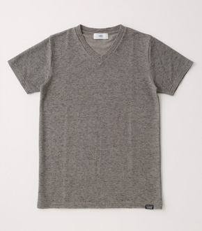 【AZUL BY MOUSSY】UNEVEN MATERIAL T-SHIRTS