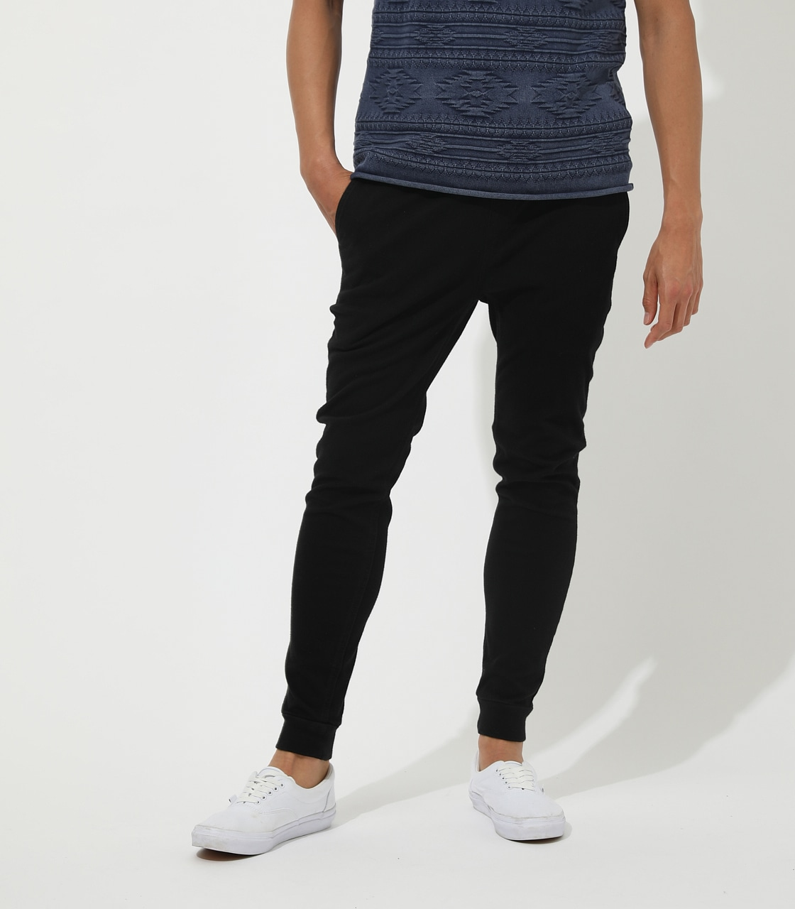 【AZUL BY MOUSSY】EASY ACTION SLIM JOGGER 詳細画像 BLK 1