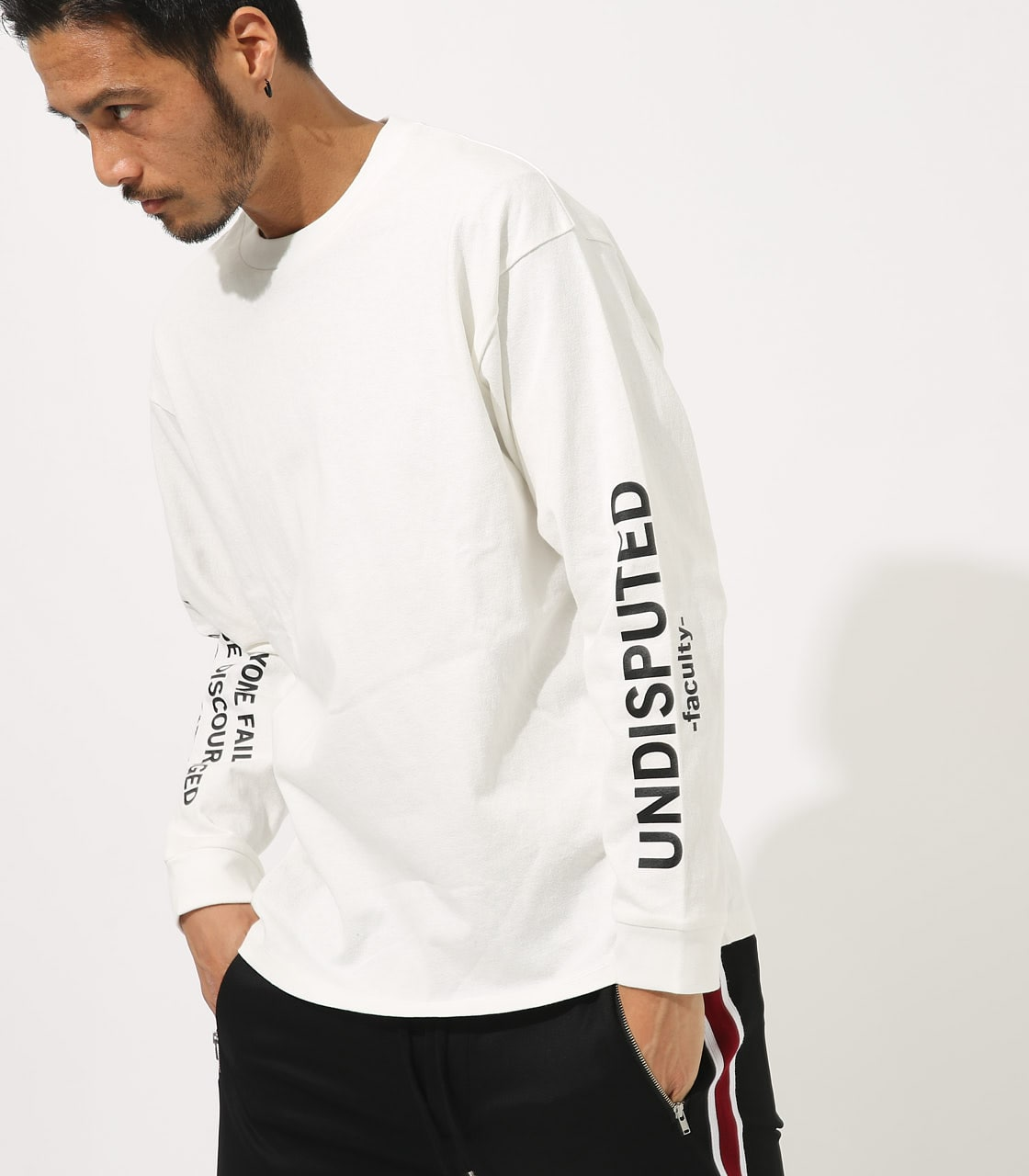 【AZUL BY MOUSSY】VACANTS BIG LONG SLEEVE 詳細画像 WHT 1