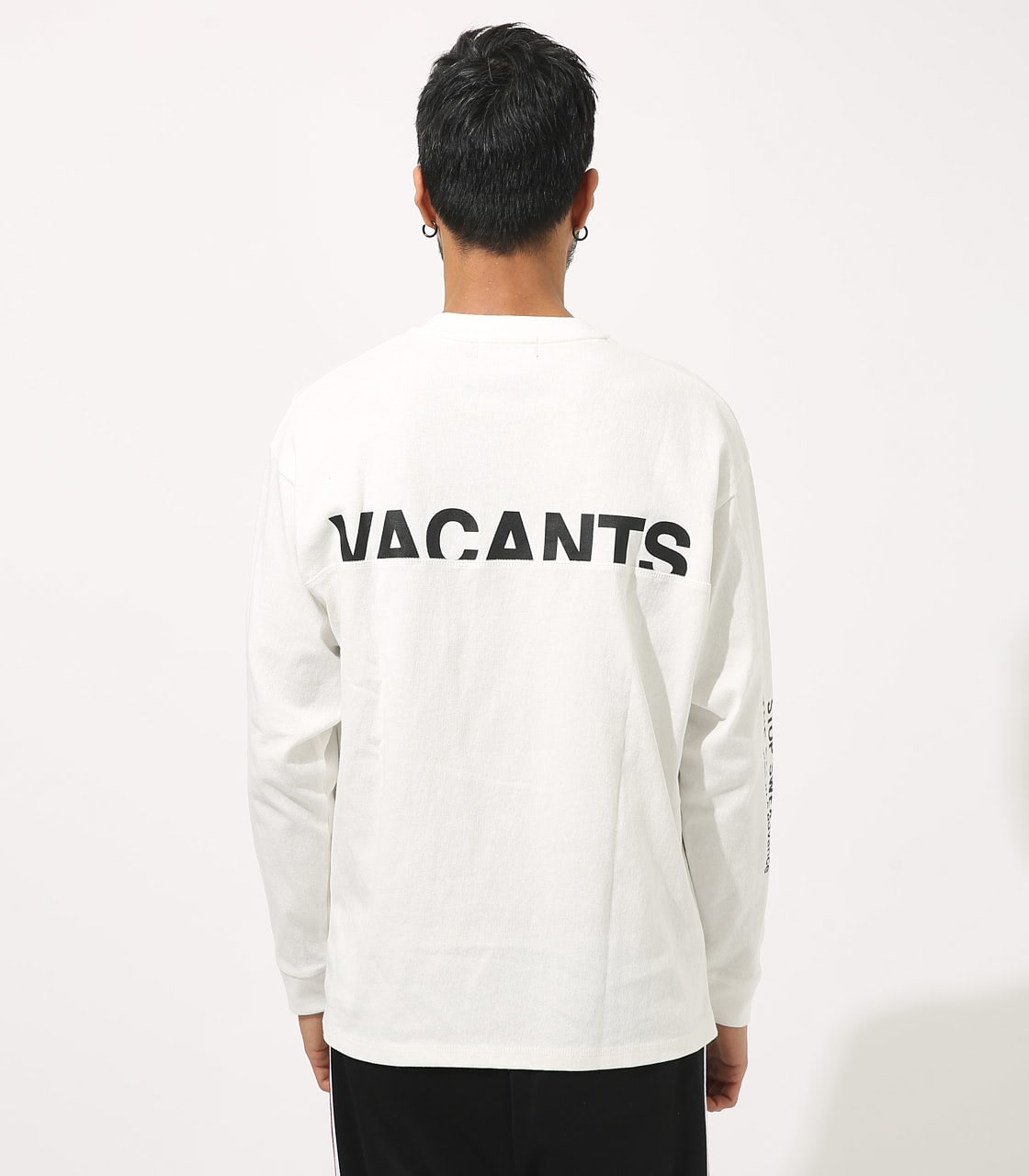 【AZUL BY MOUSSY】VACANTS BIG LONG SLEEVE 詳細画像 WHT 7