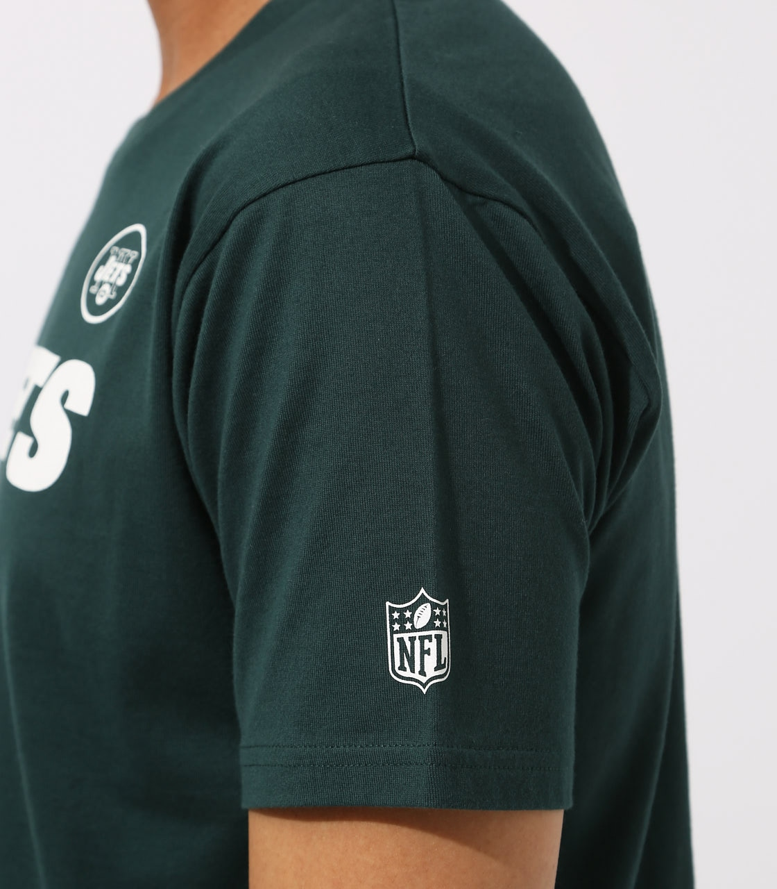 【AZUL BY MOUSSY】NFL JETS TEE 詳細画像 D/GRN 8