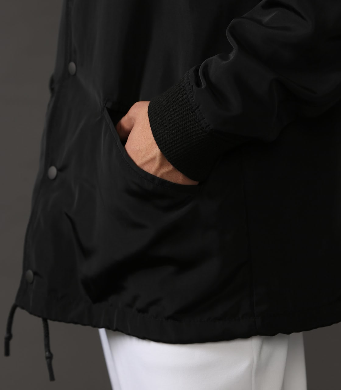 【AZUL BY MOUSSY】CLUBAZUL COACH JACKET 詳細画像 BLK 7
