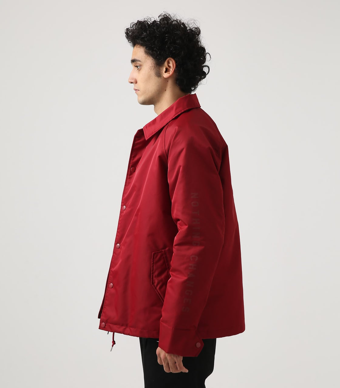 【AZUL BY MOUSSY】ヘビーツイルボアコーチジャケット 詳細画像 RED 6