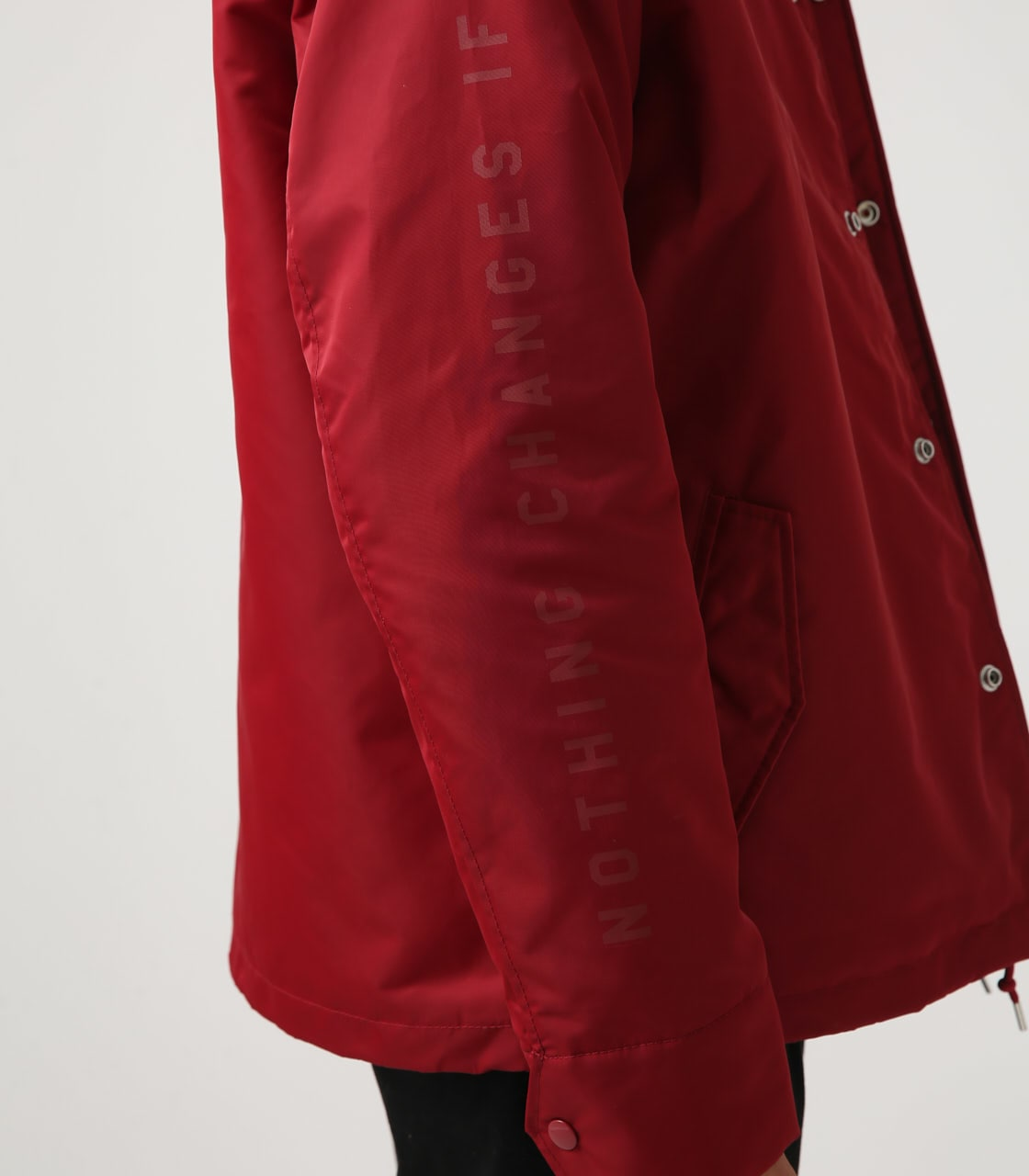 【AZUL BY MOUSSY】ヘビーツイルボアコーチジャケット 詳細画像 RED 8