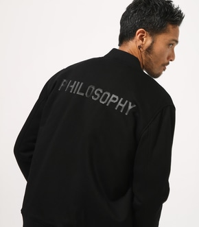 【AZUL BY MOUSSY】PHILOSOPHY ポンチブルゾン