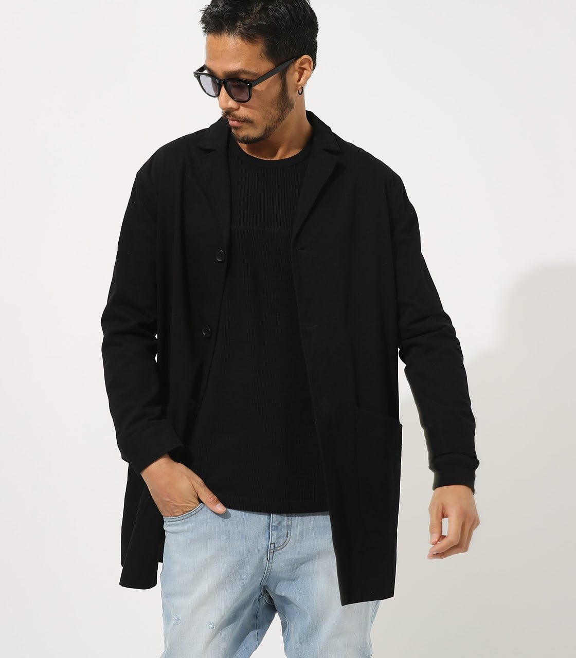 【AZUL BY MOUSSY】STANDARD SHOPCOAT 詳細画像 BLK 1