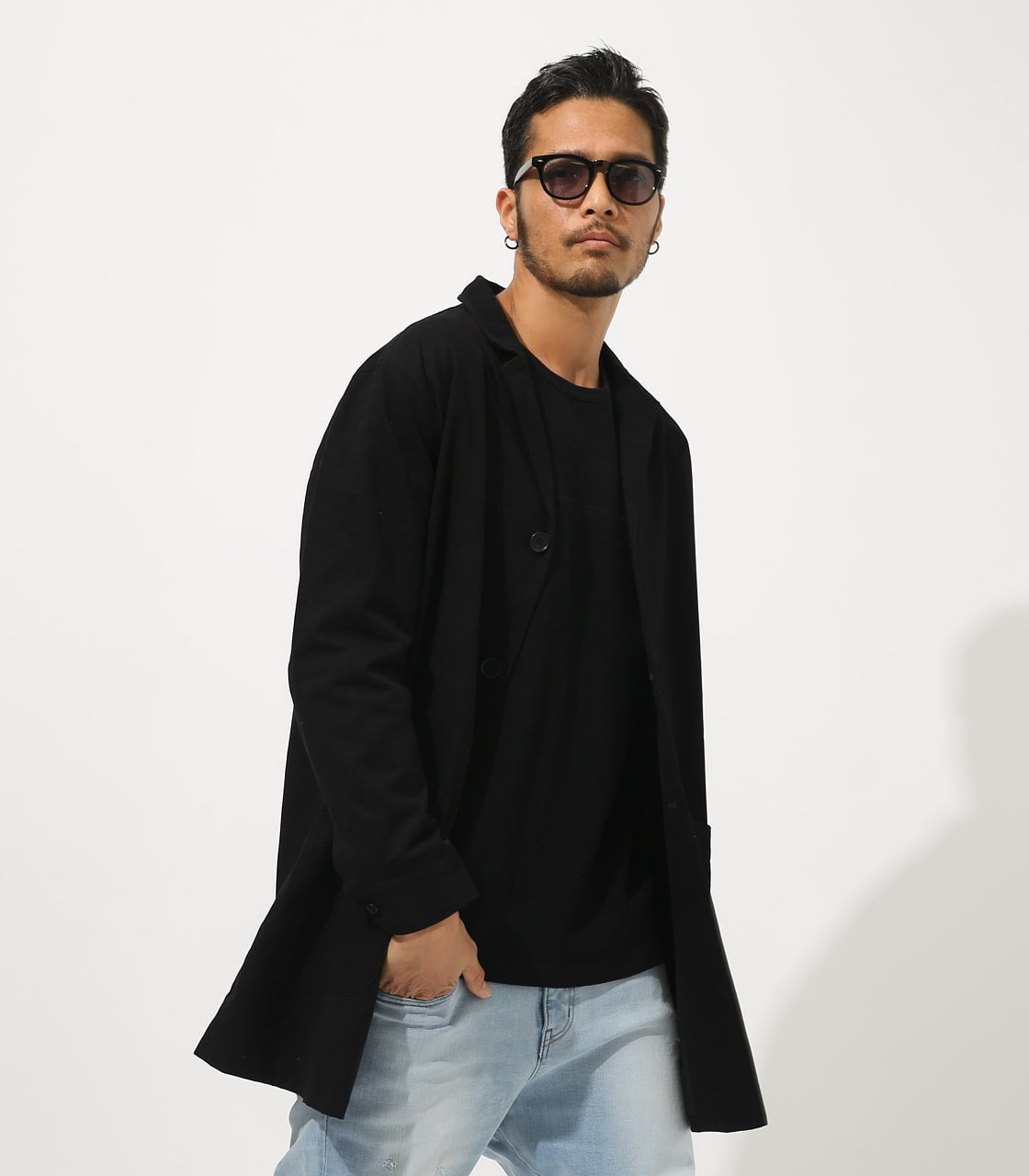 【AZUL BY MOUSSY】STANDARD SHOPCOAT 詳細画像 BLK 2