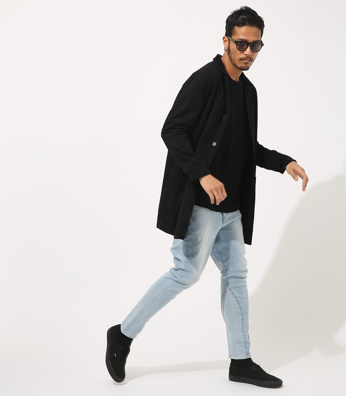 【AZUL BY MOUSSY】STANDARD SHOPCOAT 詳細画像 BLK 4