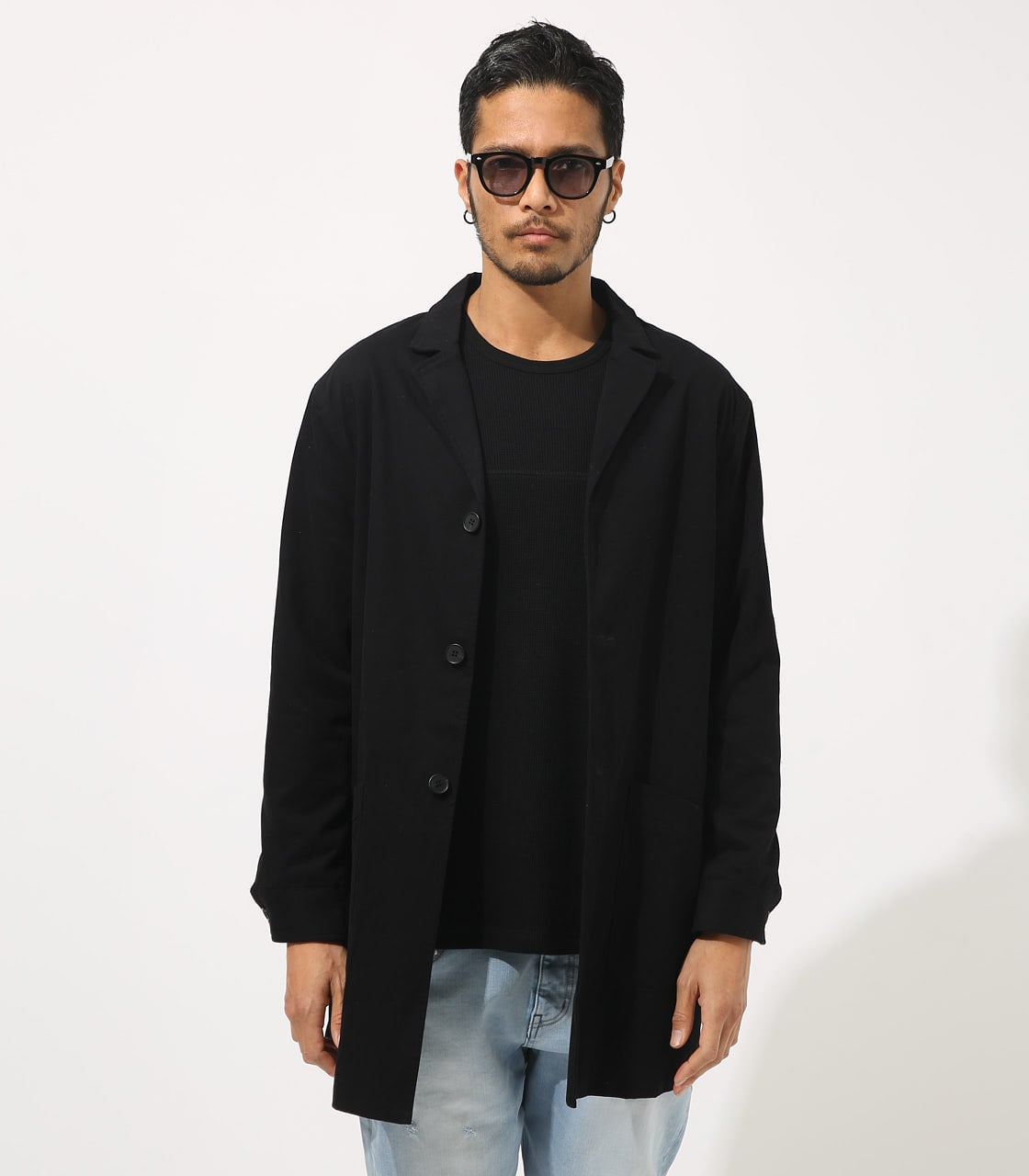 【AZUL BY MOUSSY】STANDARD SHOPCOAT 詳細画像 BLK 5