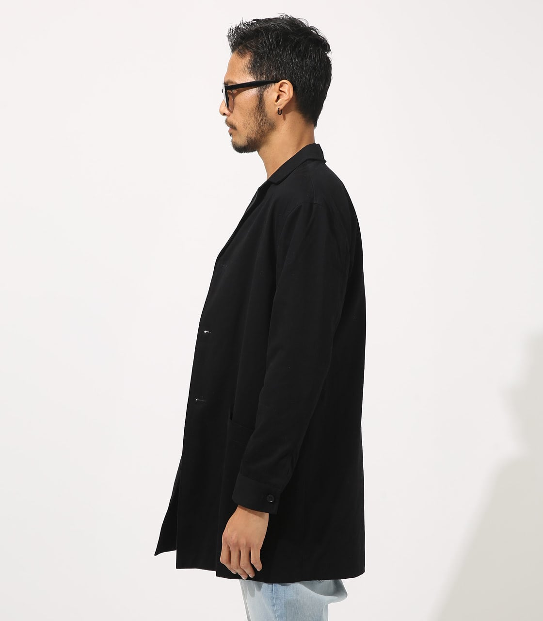 【AZUL BY MOUSSY】STANDARD SHOPCOAT 詳細画像 BLK 6