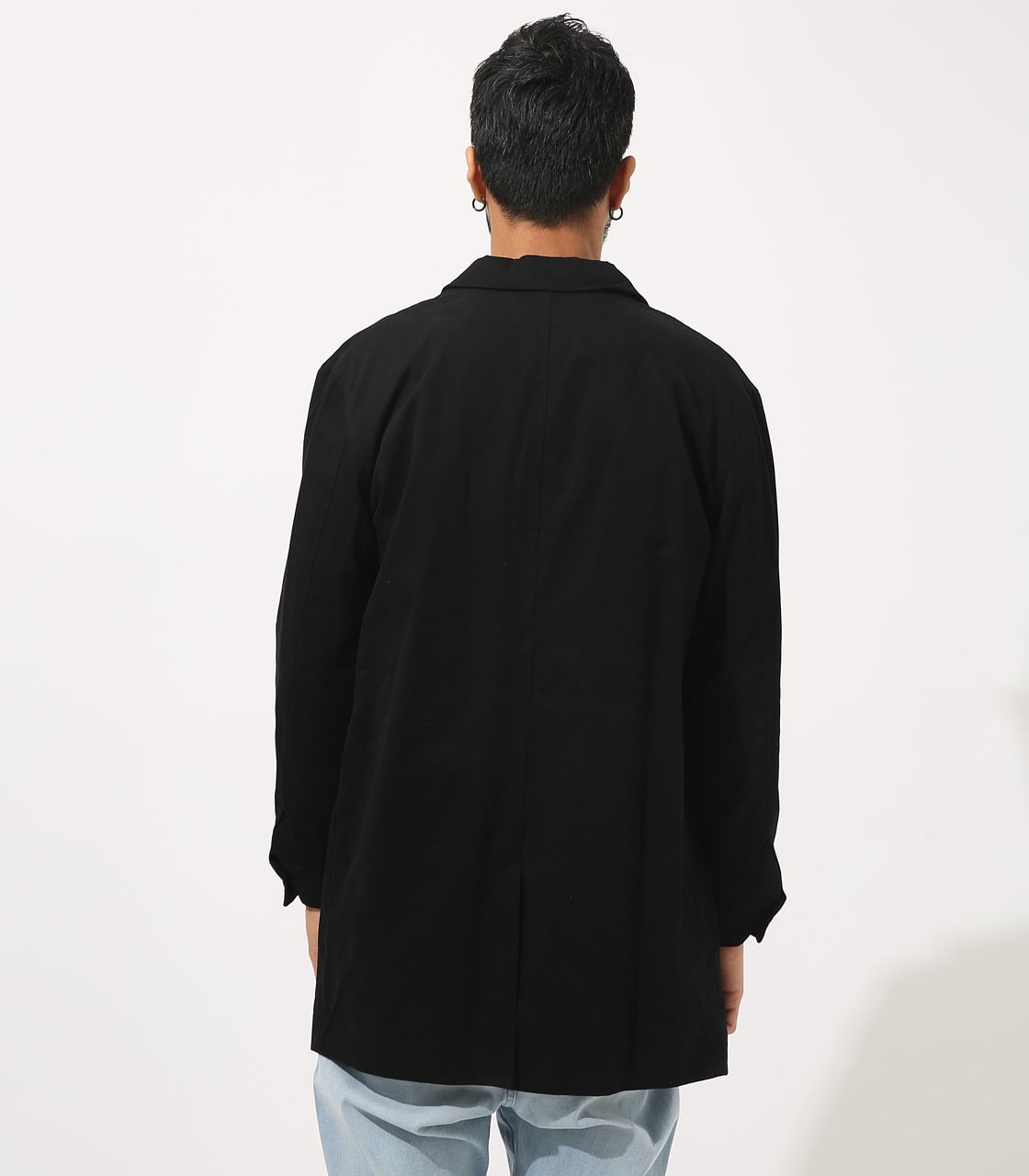 【AZUL BY MOUSSY】STANDARD SHOPCOAT 詳細画像 BLK 7