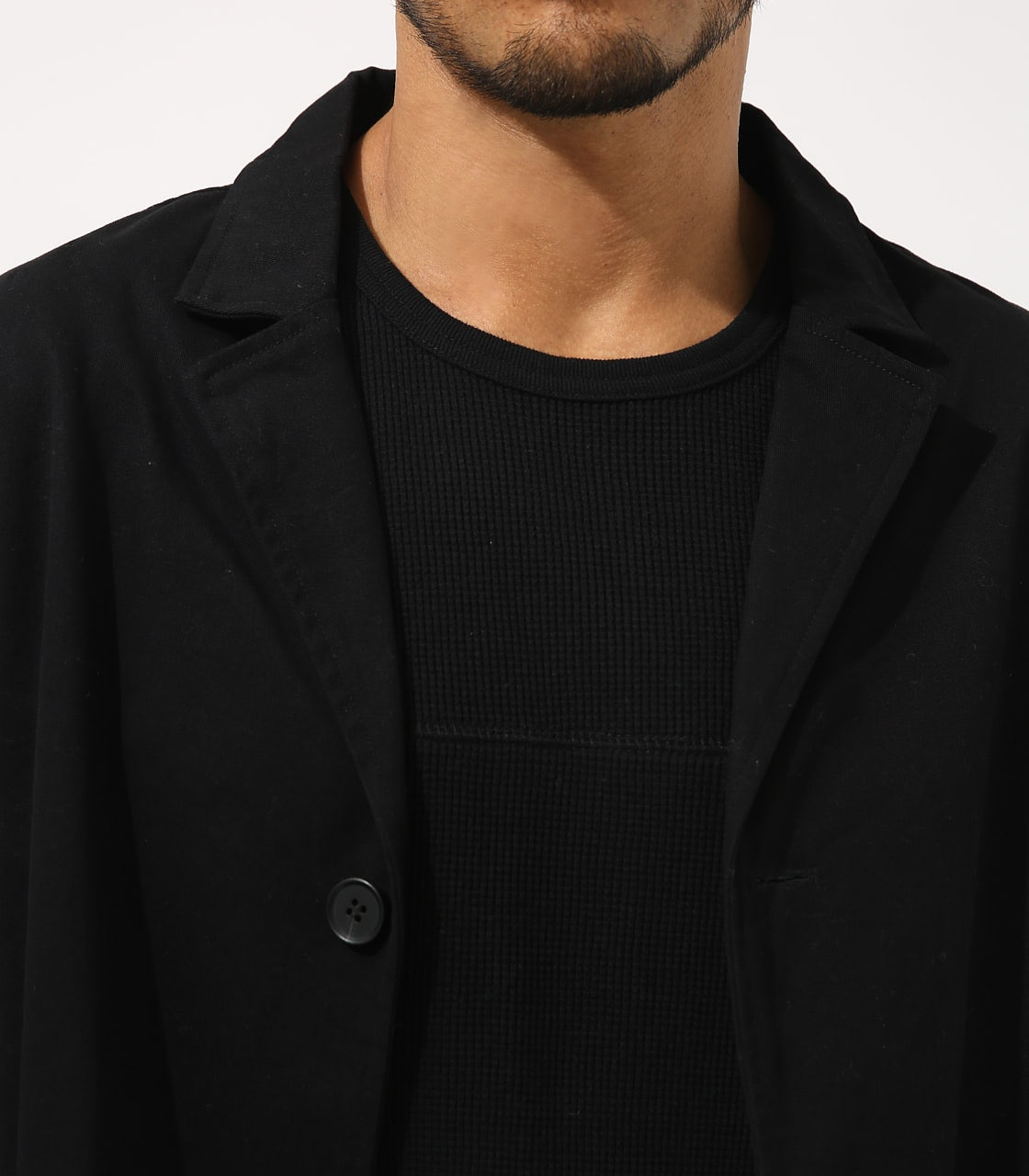 【AZUL BY MOUSSY】STANDARD SHOPCOAT 詳細画像 BLK 8