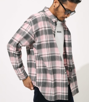 【AZUL BY MOUSSY】BIG CHECK SHIRT