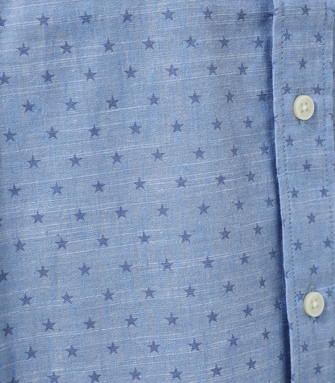 【AZUL BY MOUSSY】LINEN STAR PATTERN SHIRT 詳細画像 柄BLU 9