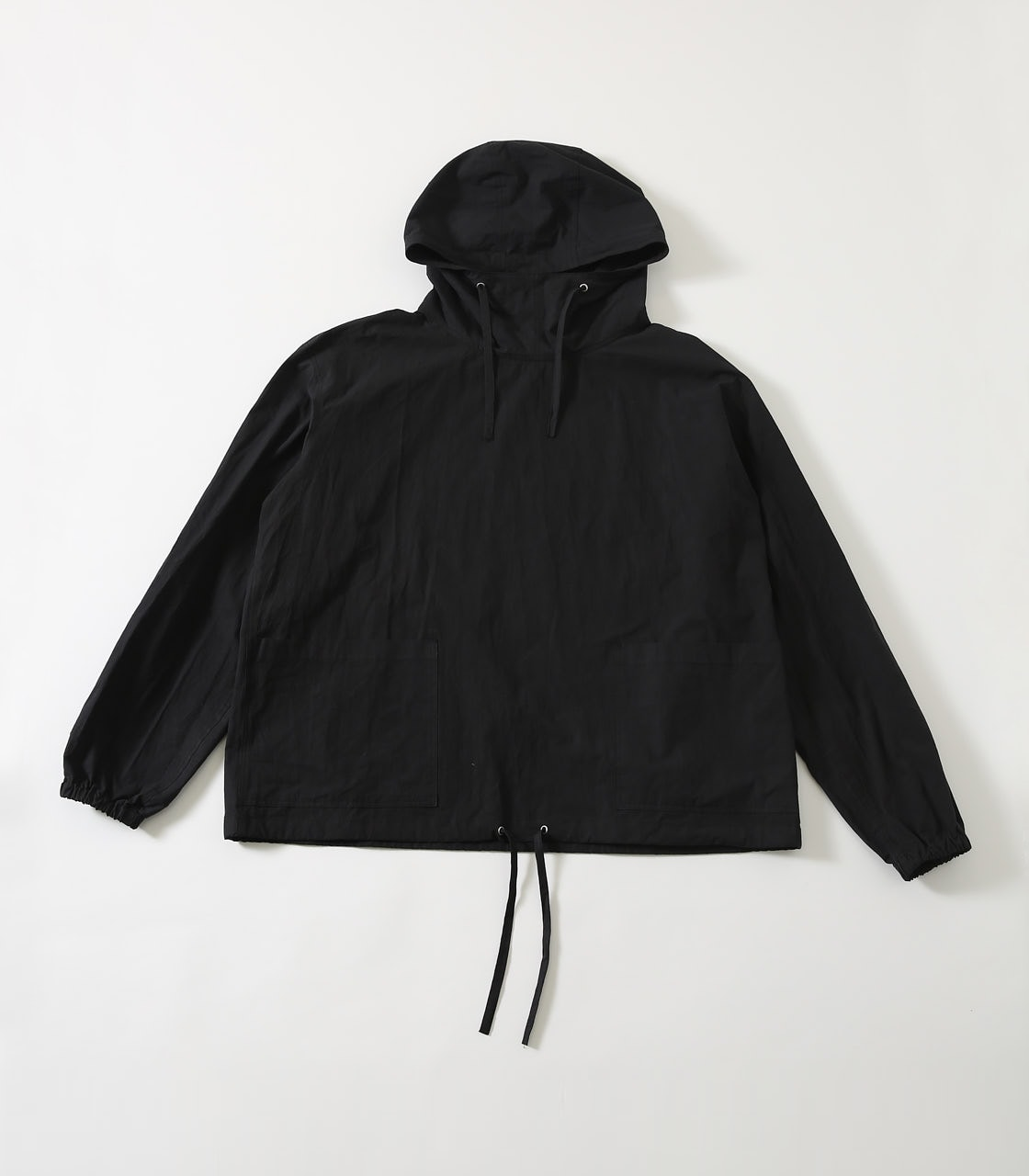 【AZUL BY MOUSSY】OVERSIZED COTTON ANORAK 詳細画像 BLK 1