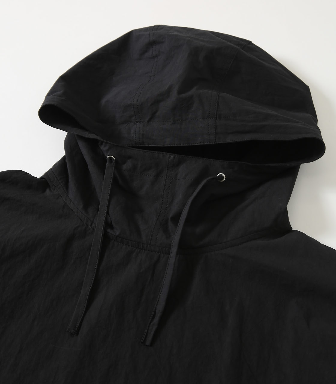 【AZUL BY MOUSSY】OVERSIZED COTTON ANORAK 詳細画像 BLK 3