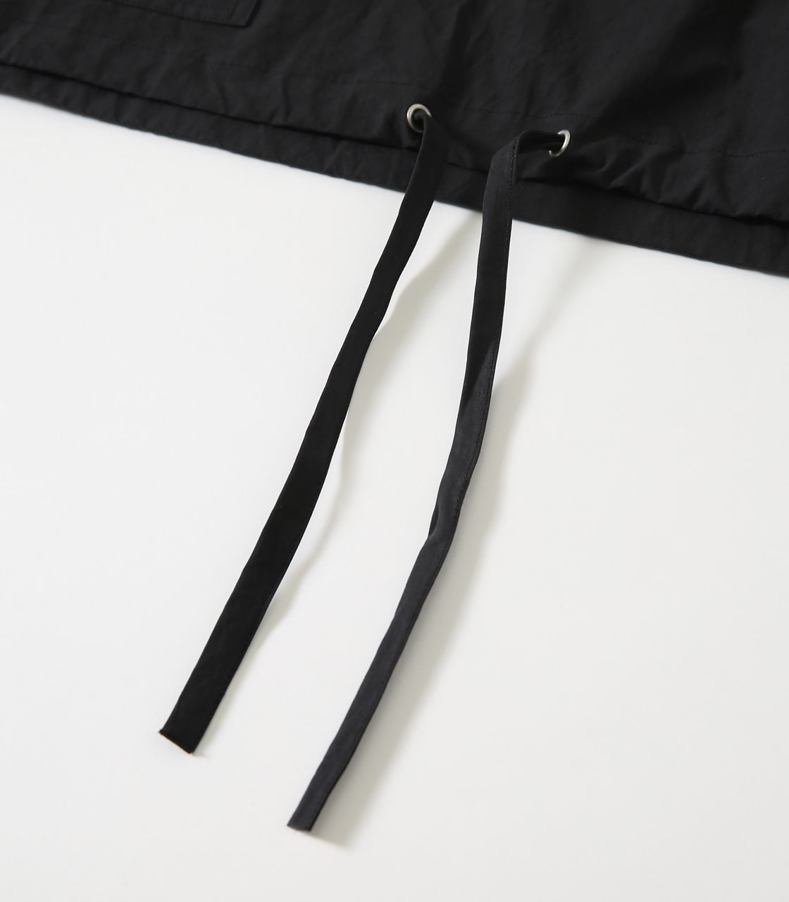 【AZUL BY MOUSSY】OVERSIZED COTTON ANORAK 詳細画像 BLK 5