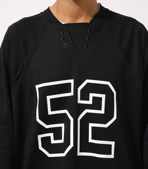 【AZUL BY MOUSSY】HOCKEY UNIFORM TOPS 詳細画像