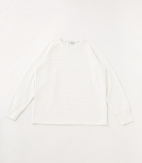 【AZUL BY MOUSSY】MATELASSE RAGLAN TOPS
