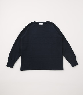 【AZUL BY MOUSSY】MATELASSE RAGLAN TOPS 詳細画像