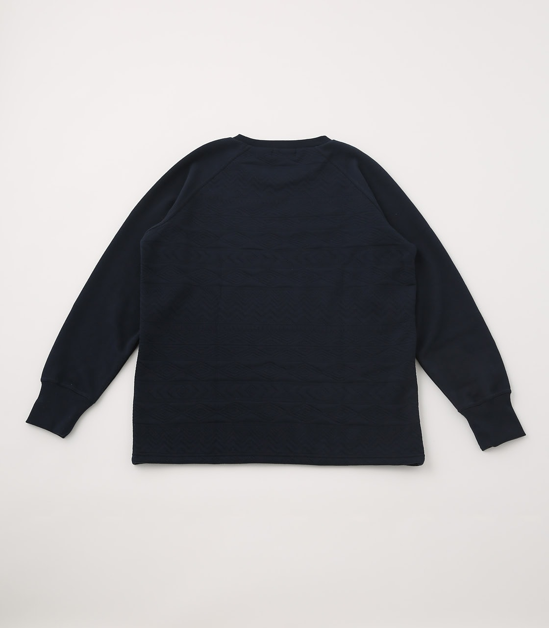 【AZUL BY MOUSSY】MATELASSE RAGLAN TOPS 詳細画像 BLK 2