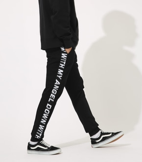 【AZUL BY MOUSSY】STRETCH LOGO LINE PANT