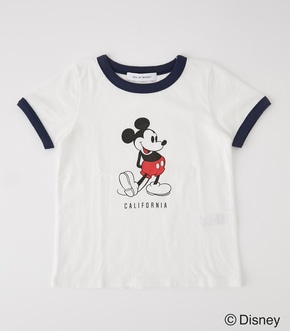 【AZUL BY MOUSSY】KIDS RIGER MICKEY TEE