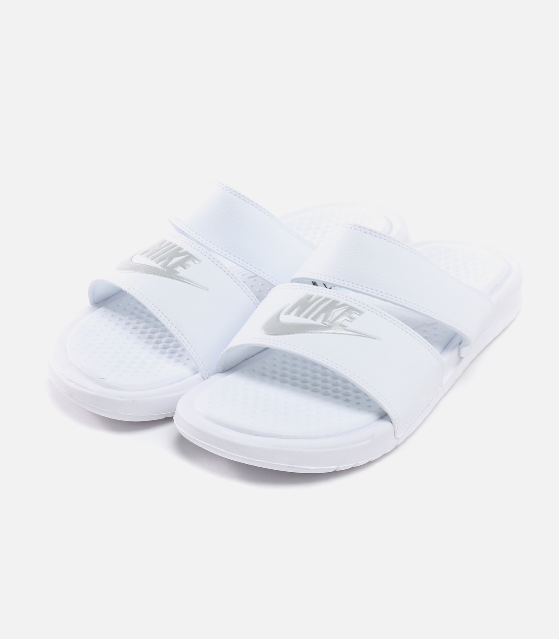 【AZUL BY MOUSSY】WIMNS NIKE BENASSI DUO ULTRA SLIDE 詳細画像 WHT 1