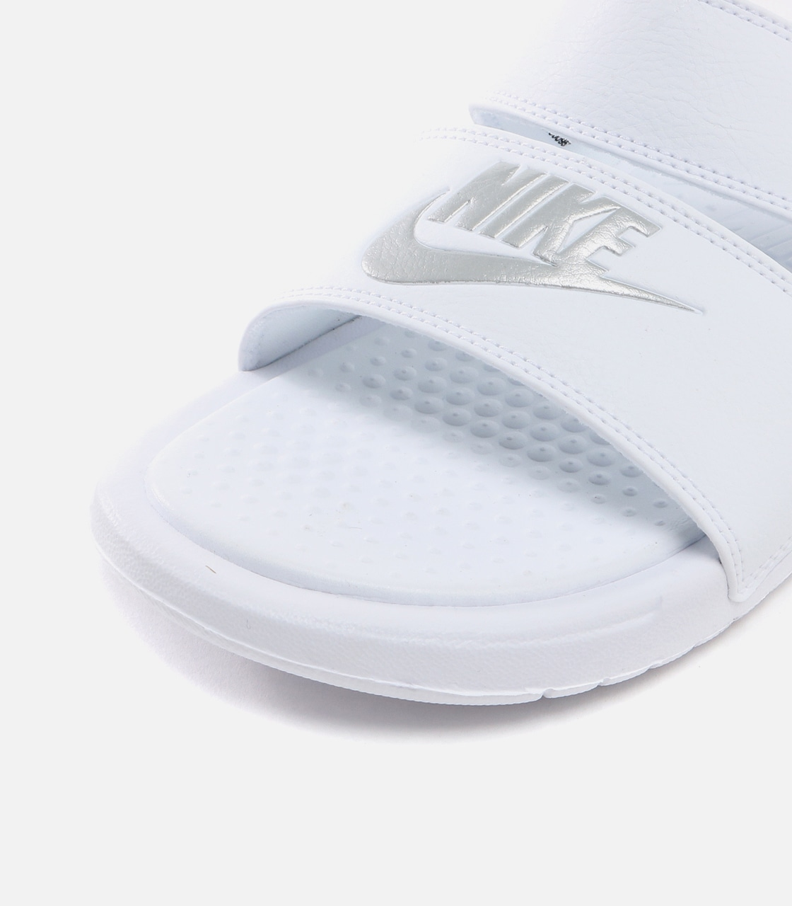 【AZUL BY MOUSSY】WIMNS NIKE BENASSI DUO ULTRA SLIDE 詳細画像 WHT 5