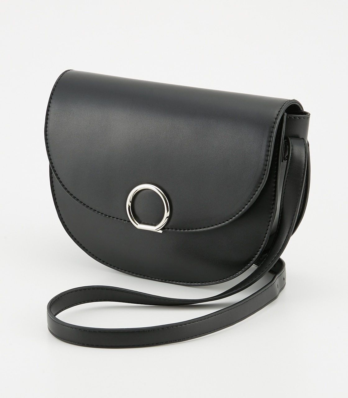 【AZUL BY MOUSSY】サークルメタルショルダーバッグ 詳細画像 BLK 1