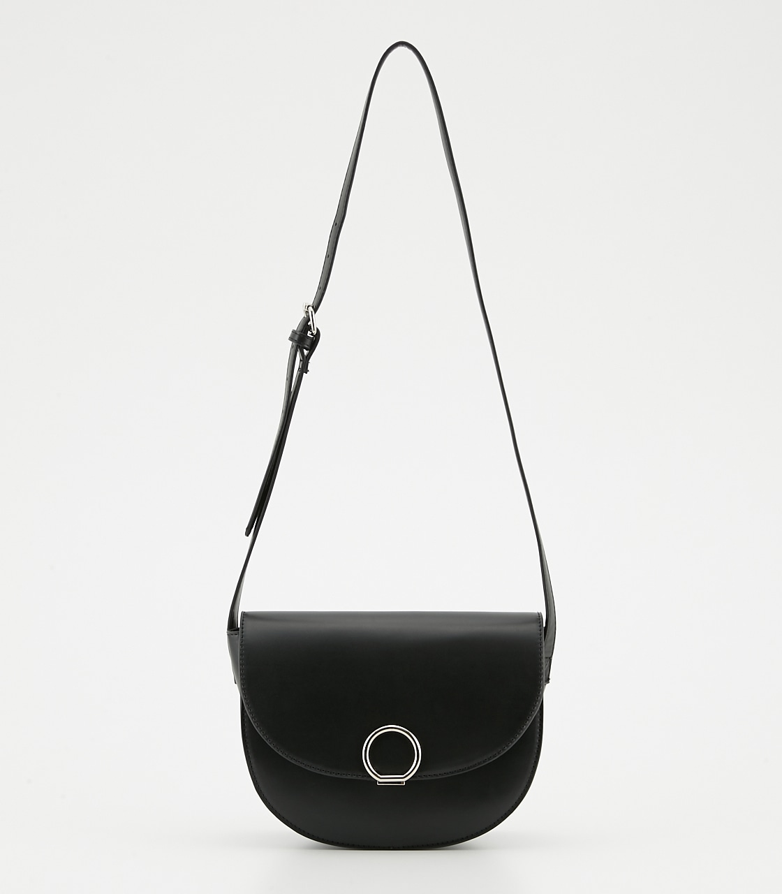 【AZUL BY MOUSSY】サークルメタルショルダーバッグ 詳細画像 BLK 2