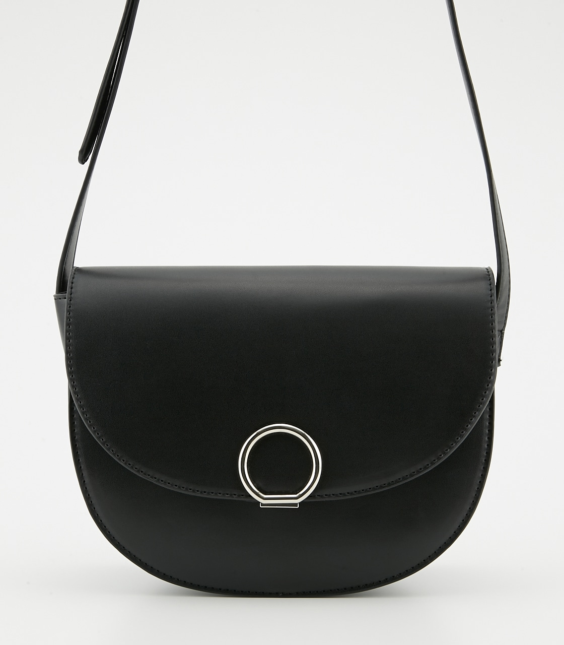 【AZUL BY MOUSSY】サークルメタルショルダーバッグ 詳細画像 BLK 3