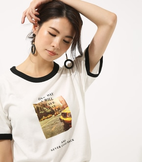 【AZUL BY MOUSSY】ONE DAY TEE