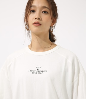 【AZUL BY MOUSSY】LIFE IS ルーズ TEE