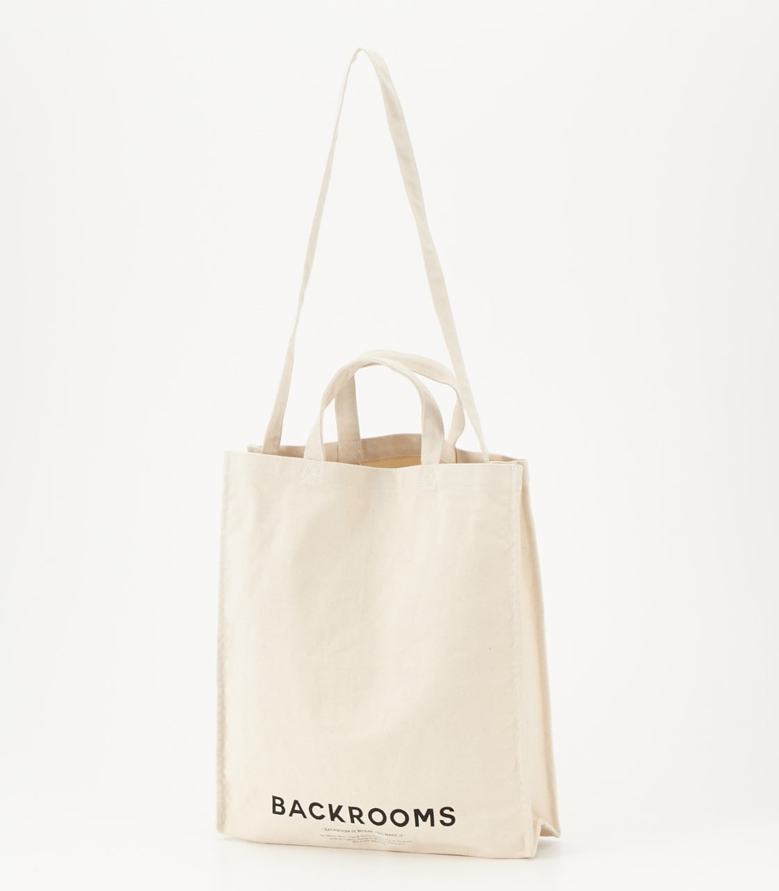 《WEB限定サマーセール》【AZUL BY MOUSSY】BACKROOMSキャンバストートバッグ 詳細画像 柄WHT 1