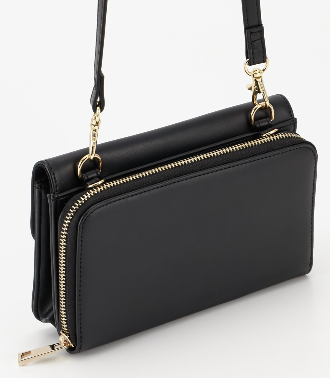 【AZUL BY MOUSSY】サークルリングウォレットバッグ 詳細画像 BLK 3
