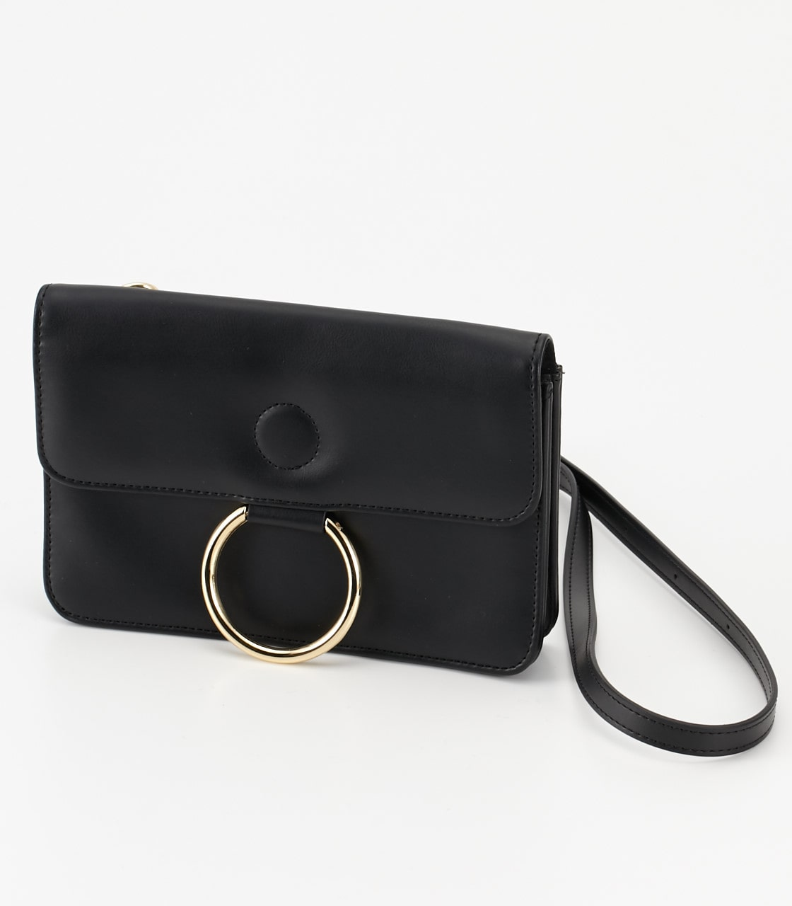 【AZUL BY MOUSSY】サークルリングウォレットバッグ 詳細画像 BLK 7