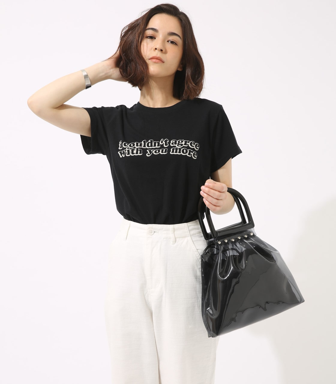 【AZUL BY MOUSSY】With you more TEE 詳細画像 BLK 3