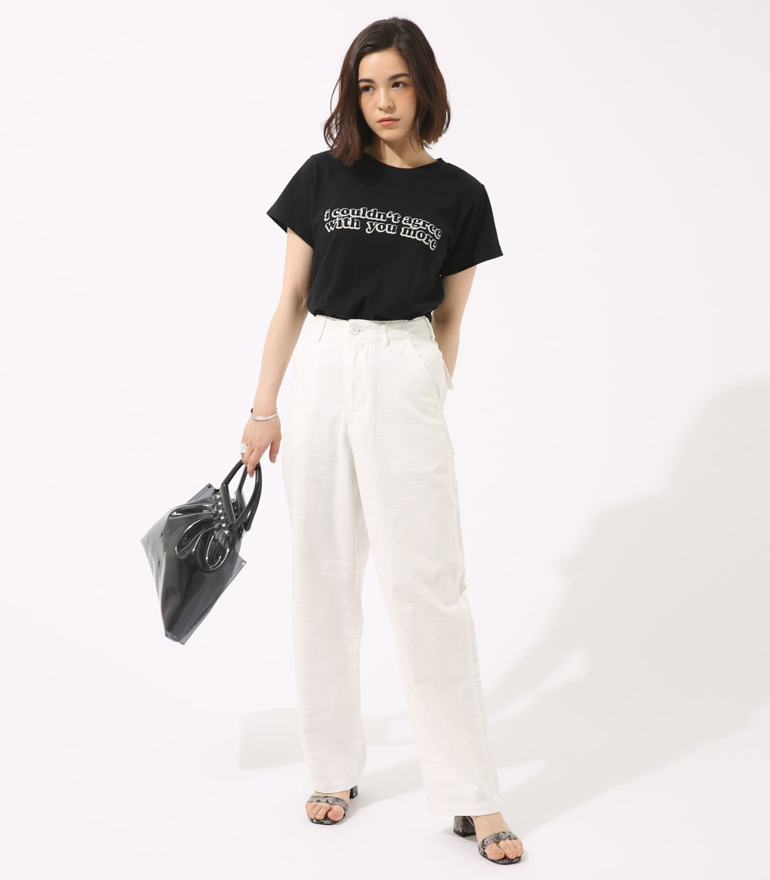【AZUL BY MOUSSY】With you more TEE 詳細画像 BLK 4