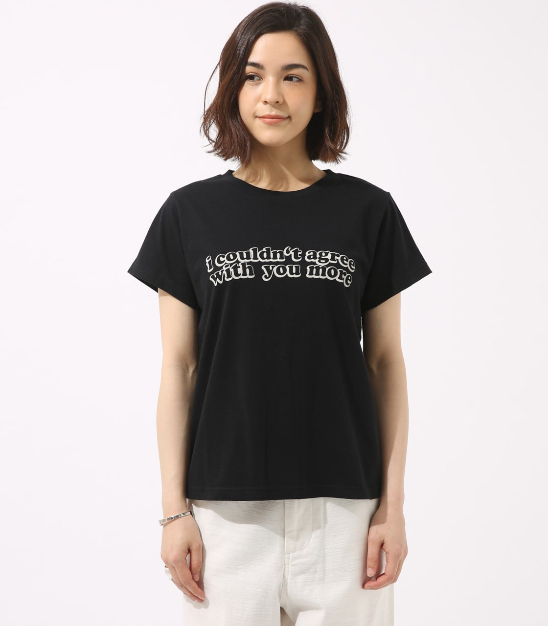 【AZUL BY MOUSSY】With you more TEE 詳細画像 BLK 5