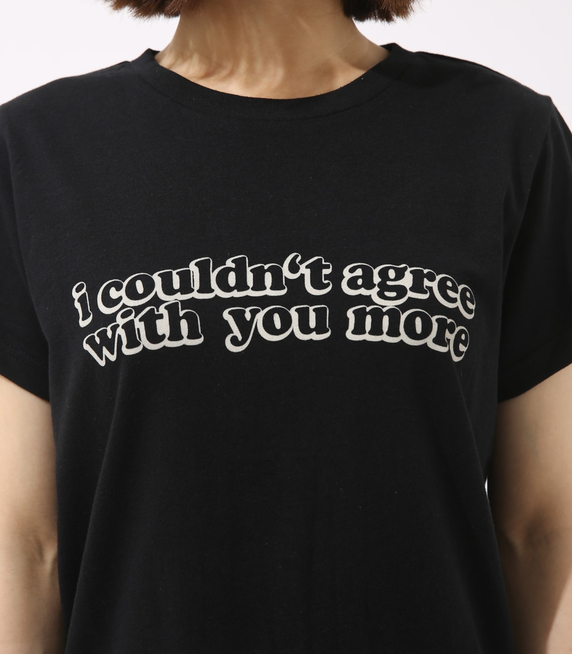 【AZUL BY MOUSSY】With you more TEE 詳細画像 BLK 8