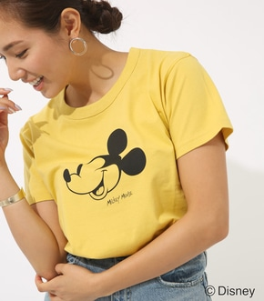 【AZUL BY MOUSSY】Mickey Mouse TEE