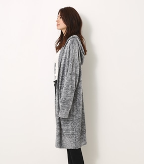 【AZUL BY MOUSSY】フードMIX カーデ 詳細画像
