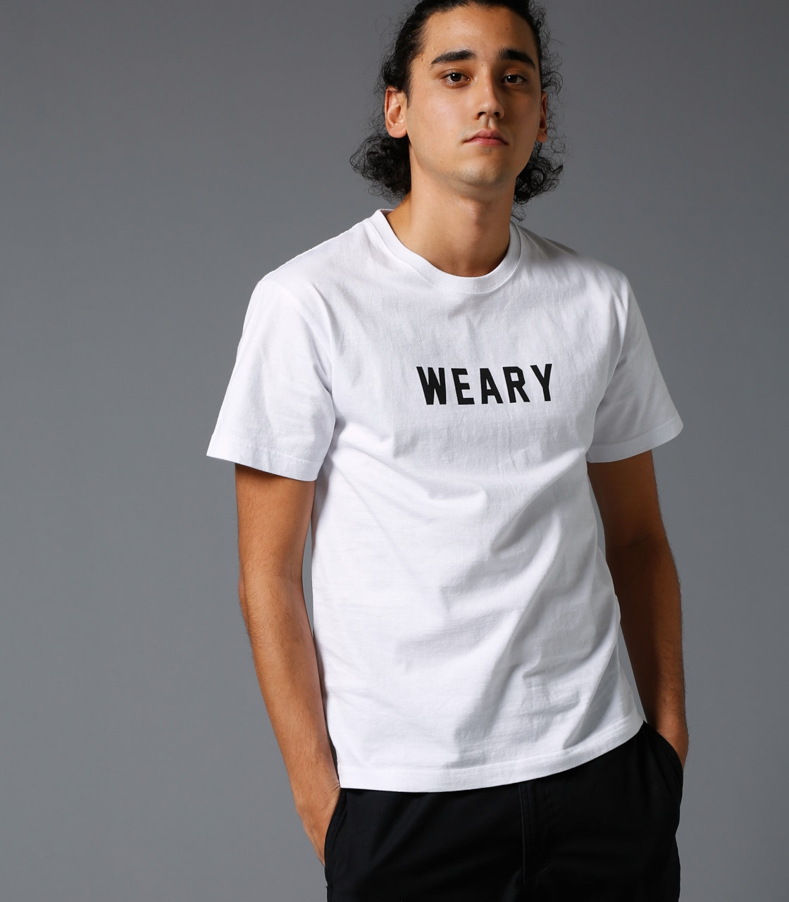 【AZUL BY MOUSSY】WEARY 半袖T 詳細画像 WHT 3