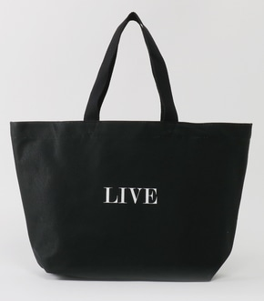 【AZUL BY MOUSSY】LIVE メッセージ トートバッグ