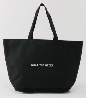 【AZUL BY MOUSSY】WHAT THE HECK? トートバッグ