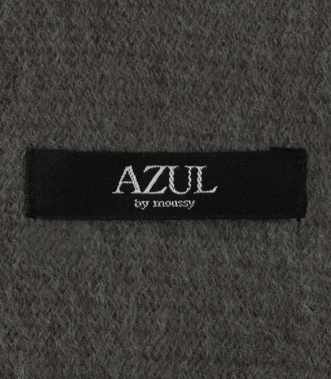 【AZUL BY MOUSSY】起毛ニットマフラー 詳細画像 GRY 7