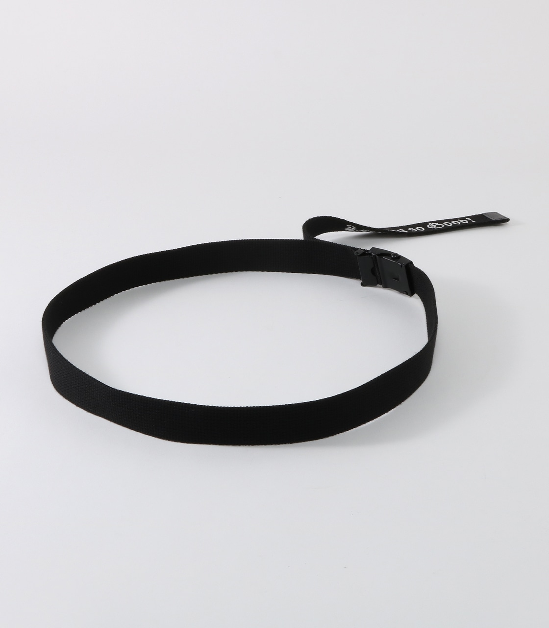 【AZUL BY MOUSSY】so good ロングテープベルト 詳細画像 BLK 2