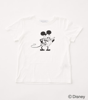 【KIDS】モノクロ OLD MICKEY TEE